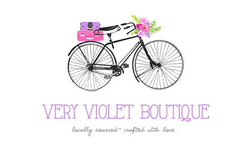 Very Violet Boutique Logo